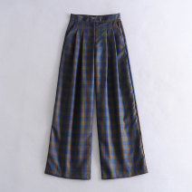 Casual pants As shown in the figure S,M,L Winter 2020 Wide leg pants High waist street routine 18-24 years old 71% (inclusive) - 80% (inclusive) Europe and America