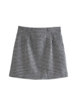 skirt Summer 2021 S,M,L As shown in the figure Short skirt street High waist 18-24 years old 71% (inclusive) - 80% (inclusive) other Europe and America