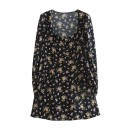 Dress Autumn 2020 As shown in the figure XS,S,M,L Short skirt street High waist 18-24 years old 81% (inclusive) - 90% (inclusive) Europe and America