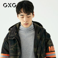 Down Jackets camouflage GXG White duck down 165/S,185/XXL,170/M,175/L,190/XXXL,180/XL Youth fashion Other leisure routine routine 90% GA111030G Wear out Hood Wear out youth 200g (including) - 250g (excluding) Youthful vigor Other 100% other other