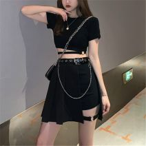 Fashion suit Summer 2021 S. M, l, one size fits all 428 half blue skirt + belt, 670 shorts, 668 shorts, 672 shorts, 04 top side, 03 top strap, 02 top ring, 428 half black skirt + belt 18-25 years old
