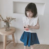 suit Other / other Graph color 7(90cm),9(100cm),11(110cm),13(120cm),15(130cm) female summer Korean version Sleeveless + pants 2 pieces nothing Solid color other 2 years old, 3 years old, 4 years old, 5 years old, 6 years old Chinese Mainland