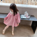 Dress Pink female Other / other 7(90cm),9(100cm),11(110cm),13(120cm),15(130cm) Other 100% spring and autumn leisure time Long sleeves Solid color other other F7223 2 years old, 3 years old, 4 years old, 5 years old, 6 years old Chinese Mainland