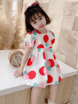 Dress Red, yellow female Other / other 7(90cm),9(100cm),11(110cm),13(120cm),15(130cm) Other 100% summer Korean version Short sleeve other other F6618 2 years old, 3 years old, 4 years old, 5 years old, 6 years old Chinese Mainland