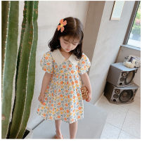 Dress Floral skirt female Other / other 7(90cm),9(100cm),11(110cm),13(120cm),15(130cm) Other 100% summer Korean version Short sleeve other other F6781 2 years old, 3 years old, 4 years old, 5 years old, 6 years old Chinese Mainland