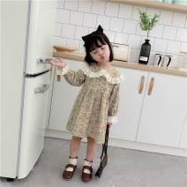 Dress Graph color female Other / other 7(90cm),9(100cm),11(110cm),13(120cm),15(130cm) Other 100% spring and autumn Korean version Long sleeves Broken flowers other other 2 years old, 3 years old, 4 years old, 5 years old, 6 years old Chinese Mainland