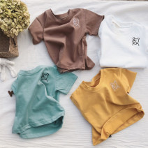 T-shirt Other / other 7(90cm),9(100cm),11(110cm),13(120cm),15(130cm) female summer Short sleeve Crew neck leisure time nothing other other Chinese Mainland
