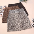 skirt Autumn 2020 S,M,L,XL White, gray, apricot, khaki Short skirt commute High waist A-line skirt Leopard Print Type A 18-24 years old CSNRG21815 51% (inclusive) - 70% (inclusive) other zipper Korean version