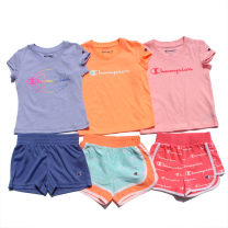 suit Other / other 5 years old female Short sleeve + pants summer 2 pieces routine Pure cotton (100% cotton content) Cartoon animation Condom Class A 01 No model in real shooting nothing Other 100% friend Expression of love Green match 90 clothing label 2T or 24m