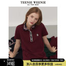 T-shirt 155/XS 160/S 165/M 170/L 175/XL Spring 2021 Short sleeve Polo collar Straight cylinder Regular routine commute cotton 96% and above 18-24 years old Britain Cartoon color matching Teenie Weenie TTHW216403I Button Cotton 98% polyurethane elastic fiber (spandex) 2% Pure e-commerce (online only)