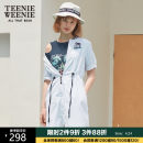 short coat Summer of 2019 160/S 165/M 170/L white Short sleeve Medium length routine singleton  Straight cylinder other routine V-neck zipper letter 18-24 years old Teenie Weenie 71% (inclusive) - 80% (inclusive) nylon Pure e-commerce (online only)