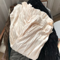 skirt Spring 2021 Average size Black skirt, grey skirt, coffee skirt, green skirt, light apricot skirt, apricot skirt longuette commute High waist Pleated skirt Solid color Type A 18-24 years old FG709545 30% and below Other / other Korean version