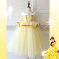 Dress Skirt yellow crown Scepter / one size yellow gloves / one size Belle Necklace Bracelet / one size yellow 4-piece set of accessories / one size sleeve / one size universal skirt support / one size Belle ear clip / one size Other / other female 110cm 120cm 130cm 140cm 150cm Colored cotton