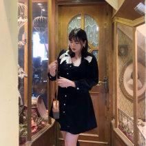 Dress Winter 2020 Black spot L,XL,2XL,3XL,4XL