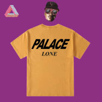 T-shirt other thin PALACE Long sleeves Crew neck easy Travel? summer PA17 youth 2021 other cotton S,M,L,XL,2XL,3XL Black, white, dark gray, yellow, light blue, light purple, Avocado Green, lake blue
