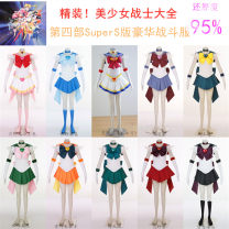 Cosplay women's wear skirt goods in stock Over 8 years old Animation, film, games Shangyi animation Chinese Mainland Sailor Moon Tsukino Usagi