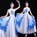 National costume / stage costume Winter of 2018 blue XS S M customized non return L XL XXL XXL 4XL 5XL H18128 Impression of Chinese clothing 18-25 years old Other 100%