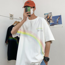 T-shirt Youth fashion routine M L XL XXL XXXL NGGGN Short sleeve Crew neck easy daily summer 5288-ZXT30-8821 Cotton 100% teenagers routine tide other Spring 2021 printing cotton natural scenery No iron treatment Fashion brand Pure e-commerce (online only) More than 95%