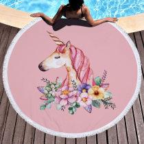 Bath towel / absorbent towel Little flamingo, unicorn, big Flamingo Others
