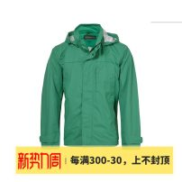 Jacket SANTA BARBARA POLO & racket club / St. Paul Business gentleman routine easy go to work autumn Polyester 100% Long sleeves Wear out Detachable cap Business Casual Large size routine Zipper placket Assorted hem Solid color polyester fiber Autumn 2016 More than two bags) polyester fiber