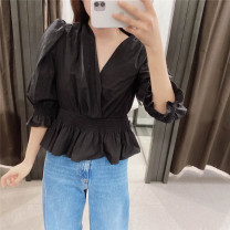shirt black XS,S,M,L Autumn 2020 other 71% (inclusive) - 80% (inclusive)