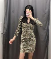 Dress Autumn 2020 Decor dress XS,S,M,L singleton  71% (inclusive) - 80% (inclusive) other