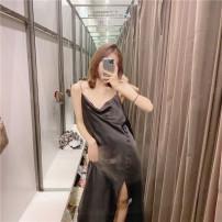 Dress Summer 2020 black XS,S,M,L singleton  71% (inclusive) - 80% (inclusive) other