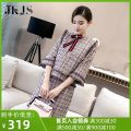 Fashion suit Spring 2021 S M L Check pattern 25-35 years old JK&JS JK5269. 96% and above Polyester 62.9% cotton 17.9% polyacrylonitrile 16.3% others 2.9% Pure e-commerce (online only)