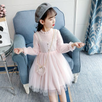 Dress Pink ly538 [send the same bag, regular big, blue ly538 [send the same bag, regular big, pink ly552 [regular factory standard size], collection and purchase female Other / other 100cm,110cm,120cm,130cm,140cm,150cm,160cm Other 100% summer Korean version Long sleeves other other Cake skirt LY538