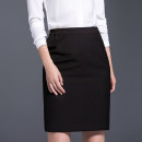 skirt Autumn of 2019 S,M,L,XL,2XL,3XL,4XL,5XL Black (regular), Navy (regular), black (front split), Navy (front split), black (back split), Navy (back split) Middle-skirt commute Natural waist Suit skirt Solid color Type H 25-29 years old HK5006 31% (inclusive) - 50% (inclusive) other Other / other