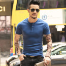T-shirt Youth fashion routine Mixlimited / men's Club Short sleeve Crew neck Self cultivation Other leisure summer youth tide 2018