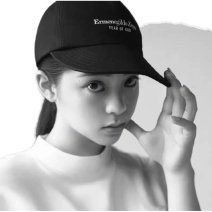 Hat canvas black Average size Baseball cap Spring, summer, autumn, winter currency street youth 15-19, 20-24, 25-29 suture motion