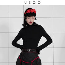 Wool knitwear Winter 2020 M L black Long sleeves singleton  Socket wool More than 95% Regular commute Self cultivation routine Solid color Socket literature 25-29 years old UEOO tassels Wool 100% Pure e-commerce (online only)