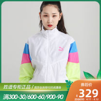 Sports jacket / jacket Puma / puma female 150/76A/XS 155/80A/S 160/84A/M 165/88A/L 170/92A/XL 175/96A/XXL 599154-257147 599154-02 five hundred and sixty-nine Autumn 2020 stand collar zipper Color contrast brand logo Sports & Leisure Breathable and windproof Sports life yes