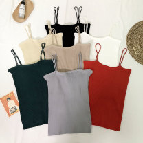 Vest sling Summer of 2019 Red, black, white, apricot, gray, green, khaki Average size Other / other