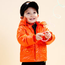 Cotton padded jacket male No detachable cap other singbail F0475 blue, f0475 orange, f0475 black 73cm,80cm,90cm,100cm,110cm thickening Zipper shirt leisure time No model Cartoon animation Cotton polyester High collar Polyester 100% F0475 Polyester 100% Two, three, four, five, six, seven, eight, nine