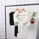 Scarf / silk scarf / Shawl other Milky white, black, camel, dark coffee, silver gray Spring and autumn, summer, winter female Shawl multi-function