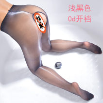 Socks / base socks / silk socks / leg socks lovers Other / other One line crotch, open crotch Black, milky white, silver gray, festive red, cherry powder, naked skin color 1 pair ultrathin Panties spring sexy Solid color nylon invisible Mercerization Common crotch