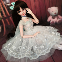 BJD doll zone Dress 1/3 Over 3 years old goods in stock Beautiful skirt + headdress + Necklace Dolls and other accessories are not included Other / other