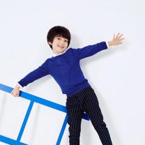Sweater / sweater 110cm,150cm Acrylic blend male blue Other / other 3 months, 6 months, 12 months, 9 months, 18 months, 2 years old, 3 years old, 4 years old, 5 years old, 6 years old, 7 years old, 8 years old, 9 years old, 10 years old, 11 years old, 12 years old, 13 years old, 14 years old