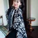 Scarf / silk scarf / Shawl Wool Black spot (within 3 days) Spring and autumn, winter female Shawl multi-function Europe and America other Youth, middle age other printing 100cm 130cm 31% (inclusive) - 50% (inclusive) Chen Liyu 18WPJ08BW