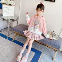 Casual suit Spring 2021 Pink, blue Under 17 91% (inclusive) - 95% (inclusive) cotton