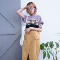 skirt Spring of 2018 Average size Yellow, black