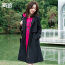Women's large Spring 2021 T9661 jacket Jacket / jacket singleton  commute easy moderate Cardigan Long sleeves Solid color Korean version Hood Medium length cotton Three dimensional cutting routine T9661 Simple implication 30-34 years old Cotton 100% Pure e-commerce (online only)