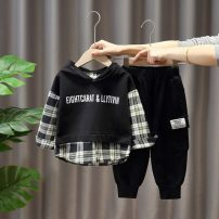 suit Other / other 80cm,90cm,100cm,110cm,120cm,130cm summer motion Thin money There are models in the real shooting Socket nothing Solid color cotton Expression of love Cotton 100% 3 months