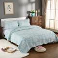 Cotton quilt Коралловое море стеганые одеяла это эликсир по одеяло свежий элегантный стеганые одеяла, стеганые, хвостатая Радуга цветов одеяло американской цвета птица стёганного свежий цветок,  стеганые молочно белый свет голубой Azure хлопок Кондиционер / лето прохладно другой / другие 250cmx230cm