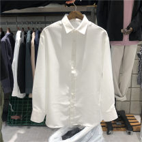 shirt Youth fashion Others M, L White, light gray, ginger, dark blue, black, khaki, beige, brown routine other Long sleeves easy Other leisure autumn