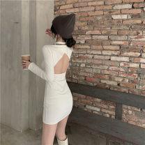 Dress Winter 2020 White, black Average size