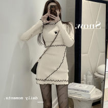 Wool knitwear Winter 2020 Average size Apricot, black other 51% (inclusive) - 70% (inclusive)