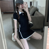 Dress Summer 2020 black Average size 18-24 years old 6651# 31% (inclusive) - 50% (inclusive)